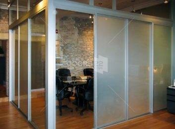 Glass Office Cubicle for Coworking