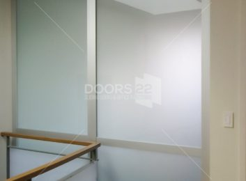 Silver frosted 3 inch frame with support dividerSilver frosted 3 inch frame with support divider