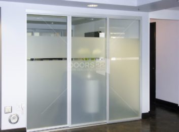 silver clear combo unique design room divider