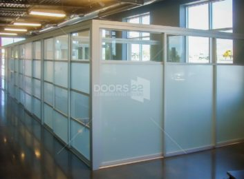 Glass Office Panels coworking