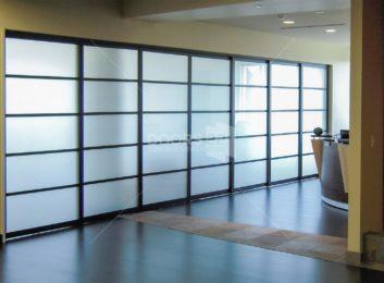 sliding partitions 3 in frame lami pentagon design 3