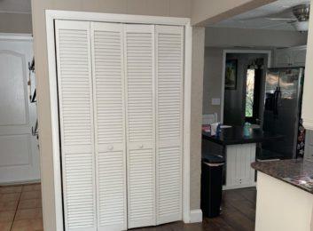 kitchen pantry door before picture