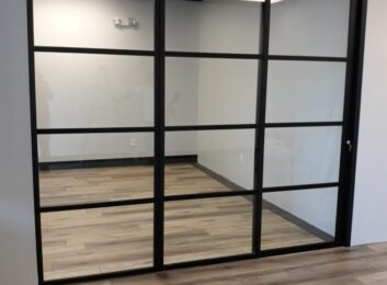 Sliding glass office walls quatro design353x260
