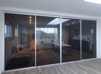 Home Office Glass Sliding Doors Fort Lauderdale FL