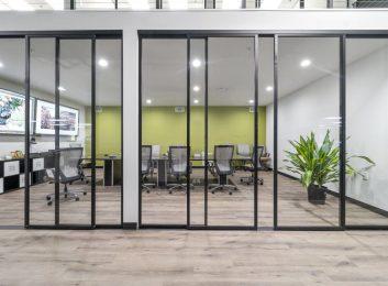 Custom Glass Office Fort Lauderdale FL