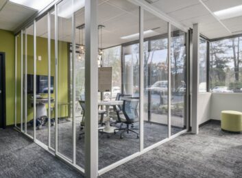 Custom Glass Office Partitions Fort Lauderdale FL