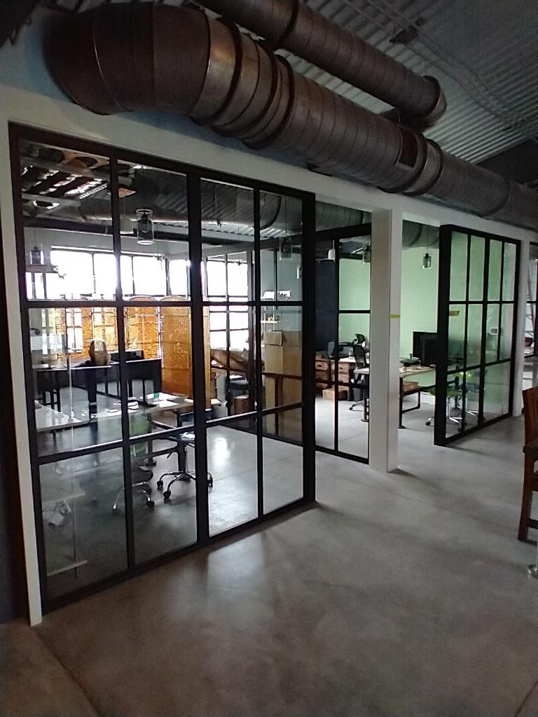 glass office system